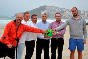 presentación copa da costa de fútbol praia