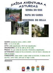 saida aventura asturias