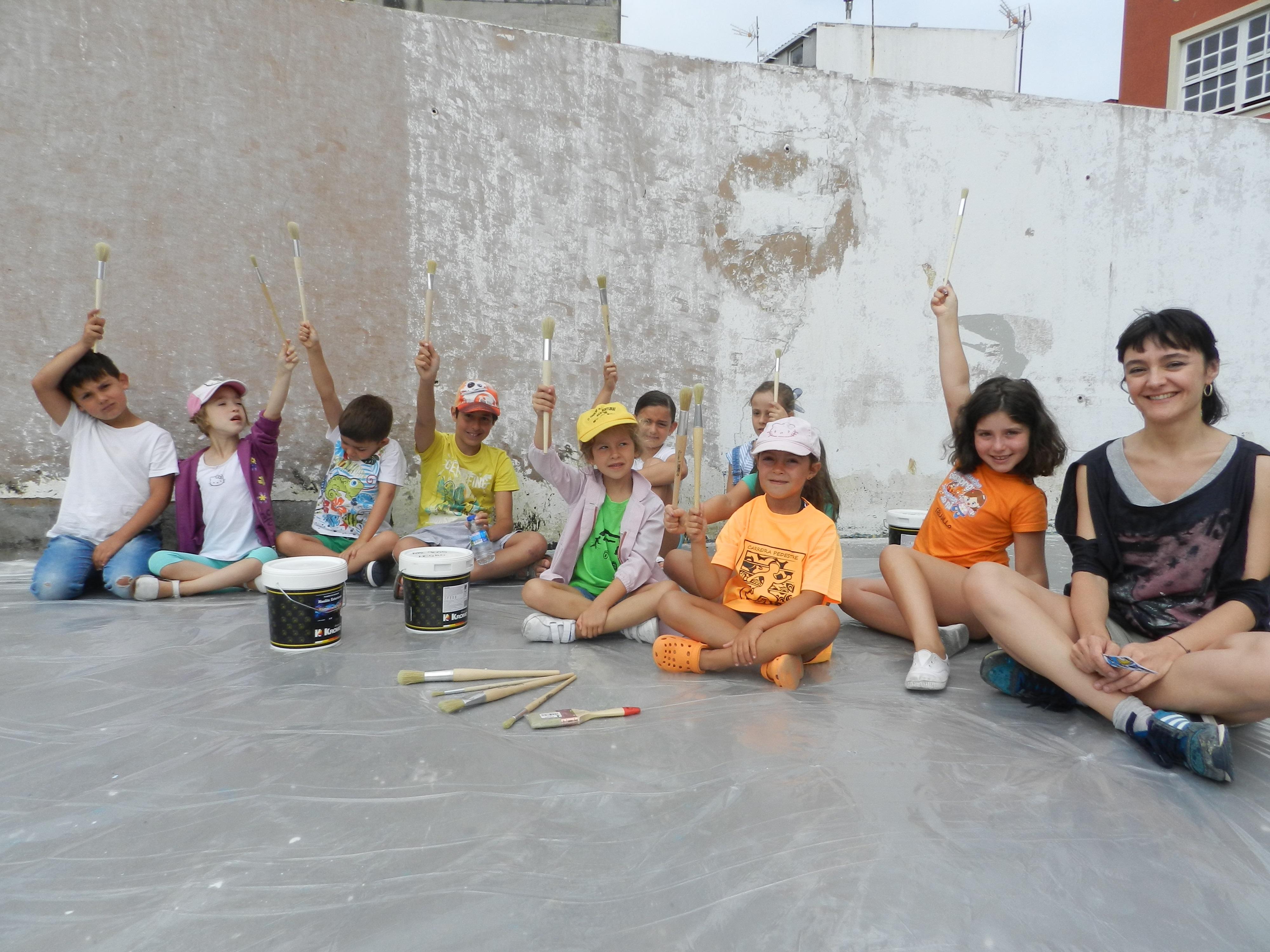 """Niños y niñas de 6 a 14 años vuelven a """"Pintar na Rúa"""" para llenar ..."""
