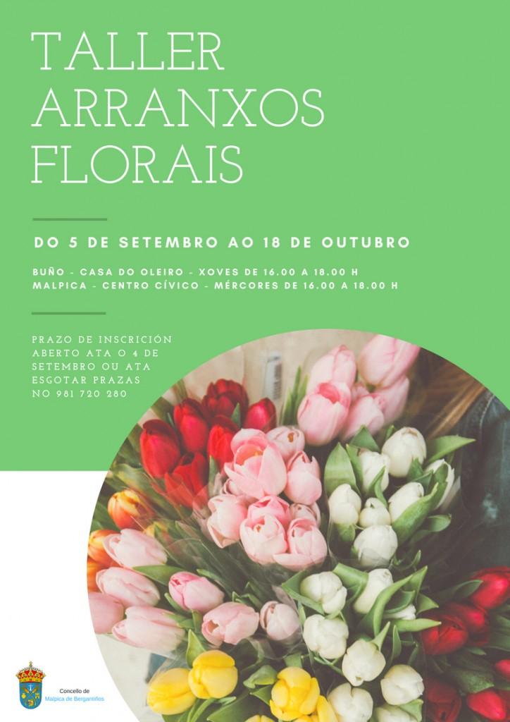 TALLER ARRANXOS FLORAIS
