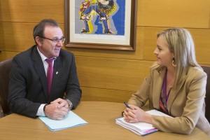 INTERNA 12,45 h.-   A conselleira de Política Social, Fabiola García, reunirase co alcalde de Malpica de Bergantiños, Eduardo Parga. foto xoán crespo 28/02/2019