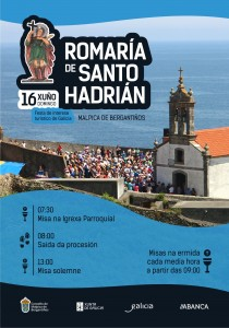 CARTEL SANTO HADRIAN 19