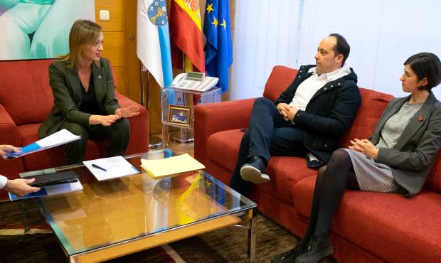 17,00 h.- A conselleira de Política Social, Fabiola García, reunirase co alcalde de Malpica de Bergantiños, Walter Pardo. No seu despachofoto xoán crespo07/01/2020