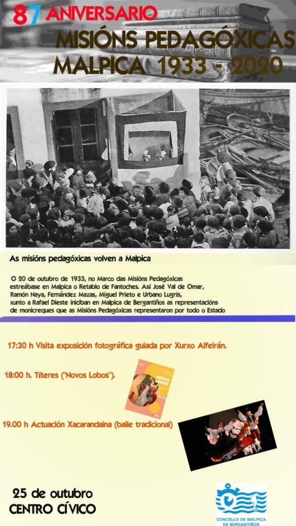LXXXVII Aniversario das Misións Pedagóxicas
